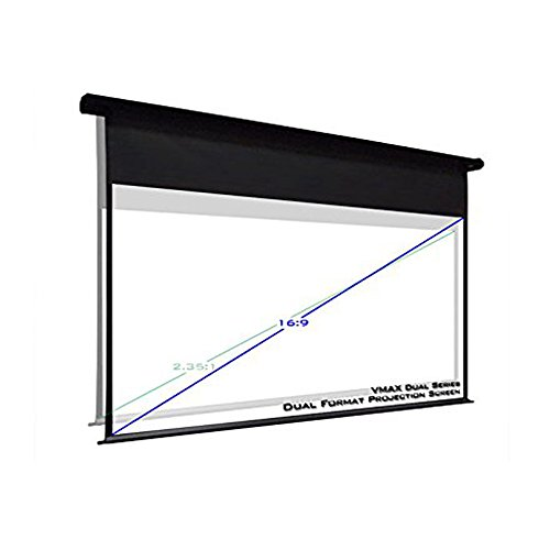 Elite screens vmax120h114c dual series 120 114 electric for Motorized home theater screen