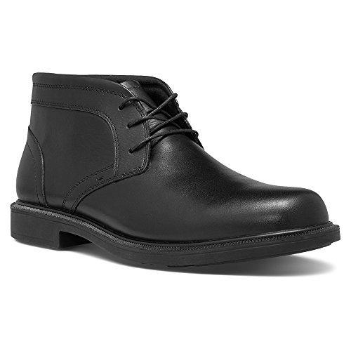 (Dunham Men's Johnson Waterproof Boot,Black,9.5 4E US)