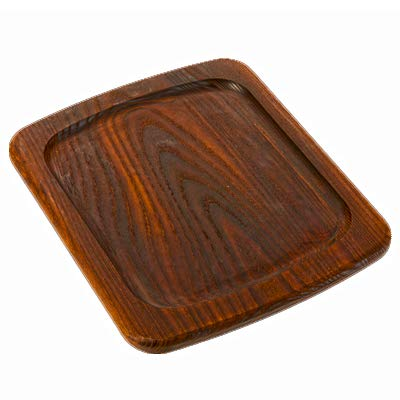American Metalcraft AWB1210 Serving Board, Ash Wood, Rimmed, 3/4'' Height, 10'' Width, 12'' Length