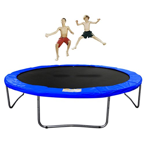 Nexttechnology 10 Feet Round Trampoline With High Safety