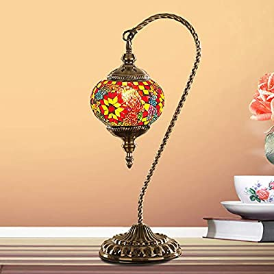 Pn&cc Lámpara De Mesa Marroquí, Luces Decorativas Árabes De La ...
