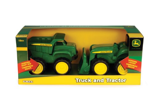 John Deere Sandbox Vehicle 2pk, Truck and Tractor by TOMY (Image #5)