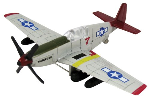 """Tuskegee Airmen P-51 Mustang, """"Red Tails"""" ()"""