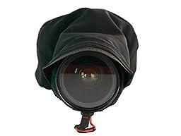 Peak Design Black Shell Medium Form-Fitting Rain and Dust Cover