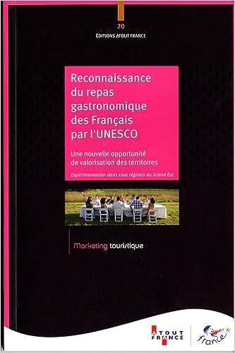Amazon Fr Reconnaissance Du Repas Gastronomique Des