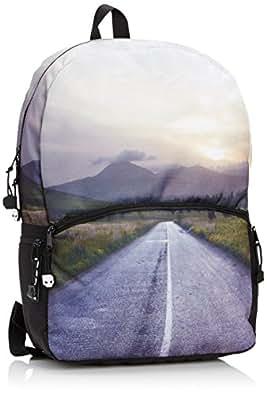 Mojo The Road, Bolso Mochila para Hombre, Gris, 0