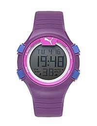Puma Faas100 S Purple Digital Display Watch