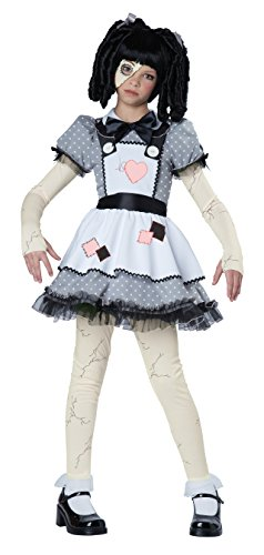 California Costumes Haunted Doll Child Costume, X-Large