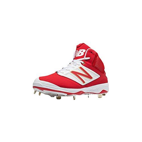 Nuovo Equilibrio Midcut 4040v3 Mens Ammortizzazione Bacchetta Da Baseball In Metallo 9 Rosso-bianco