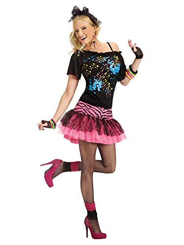 80s Pop Party Adult Costume - Medium/Large