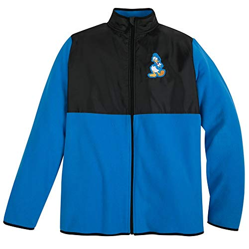 Disney Donald Duck Pieced Fleece Jacket for Adults - Size Mens XL Multi