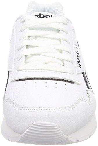 Glide Bianco Reebok White Uomo Sneaker Black White Royal Pxxnf