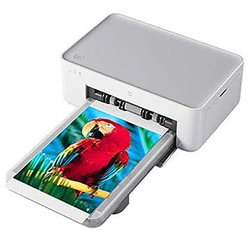 LDJC Impresora fotográfica móvil, Impresora inalámbrica de ...