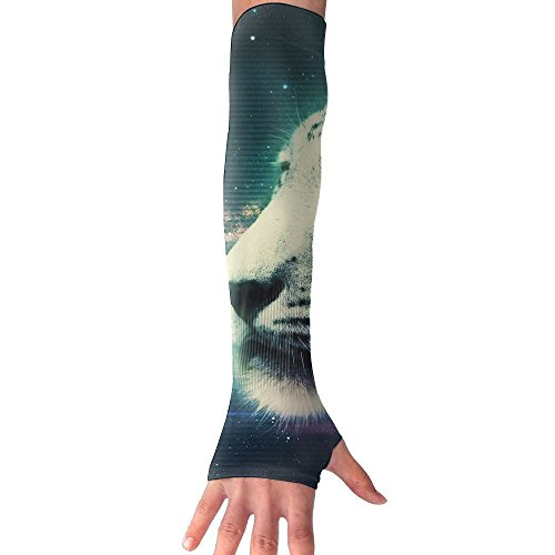 Fdvgfdgvfd Tigger Sky Long Half Finger Unisex Sun Arm Protection Sleeve Outdoor -