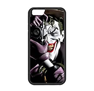 """Clown Pattern Image Designed for iPhone 6 (4.7"""") Only Case Cover Laser Technology Plastic and TPU"""