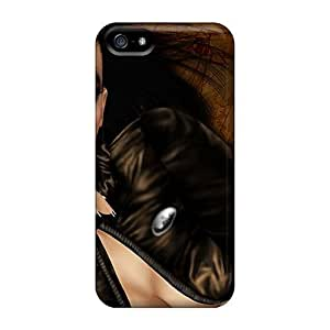 Flexible PC Back For HTC One M7 Phone Case Cover - Steampunk