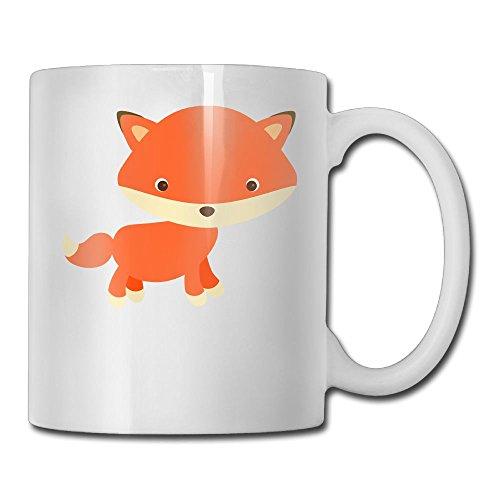 Pingquchan Adorable Fox Gifts Custom Gift Coffee Mug Tea - Mall Il Chicago In