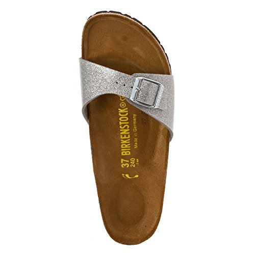BIRKENSTOCK MADRID MAGIC SILVER