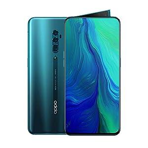 Oppo Reno 10x Zoom Dual-SIM 256GB / 8GB RAM (GSM Only, No CDMA) Factory Unlocked 4G/LTE Smartphone – International Version (Ocean Green)