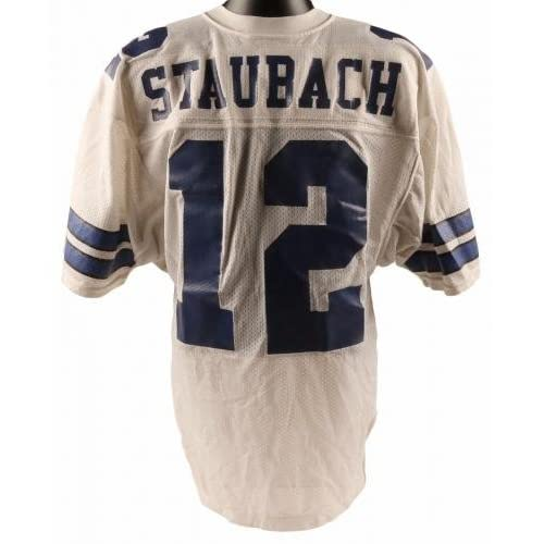 new arrival 8a574 1daca hot sale Signed Roger Staubach Jersey - COA - JSA Certified ...