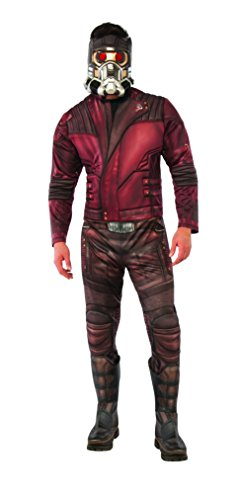 Rubie's Men's Guardians of the Galaxy Volume 2 Star-Lord Costume, Deluxe, Standard