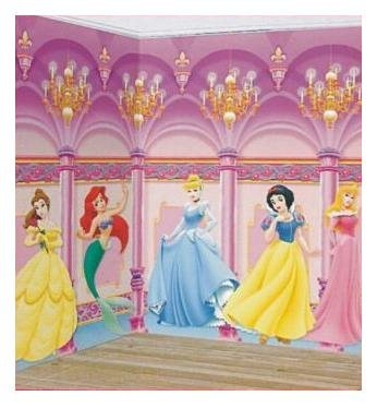 Scene De Chambre Princesse Disney Decoration Murale Amazon Fr