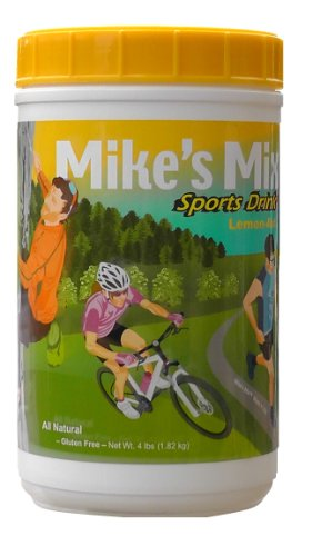Hammer Heed Drink Sport (Mike's Mix Sports Hydration Electrolyte Drink, 4 lbs-Lemon Aid)