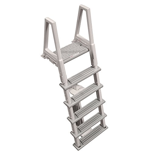 Above Ground Ladder (46-56 Inch Confer Above Ground Swimming Pool In-Pool Ladder Deluxe Pool Ladder)