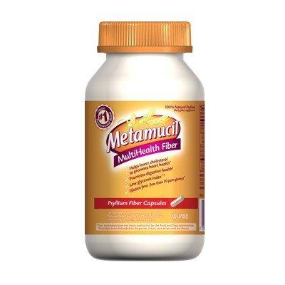 Metamucil Fiber Therapy for Regularity - Natural Psyllium Fiber Supplement - Value Pack Capsules 300 count by Metamucil