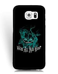 SkinMethods-Fundas Case Alice In Wonderland for Samsung Galaxy S6 Bamper Fundas Caso para Samsung Galaxy S6 Anime
