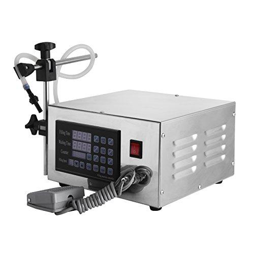(Happybuy XK-280 Digital Liquid Paste Filling Machine 2~3500ml Liquid Filling Machine for Liquid Cosmetic (XK-280))