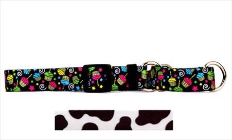 Yellow Dog Design M-COW101S Cow Martingale Collar Small