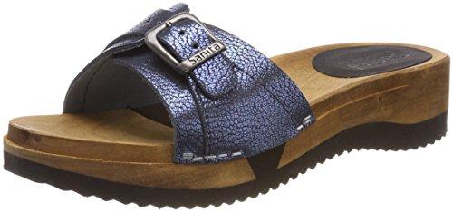 Sanita Vrouwen Randi Flex Sandaal Mules Blauw (blauw)