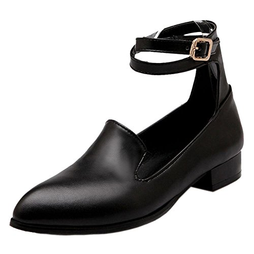 COOLCEPT Damen Spitze Pumps Black