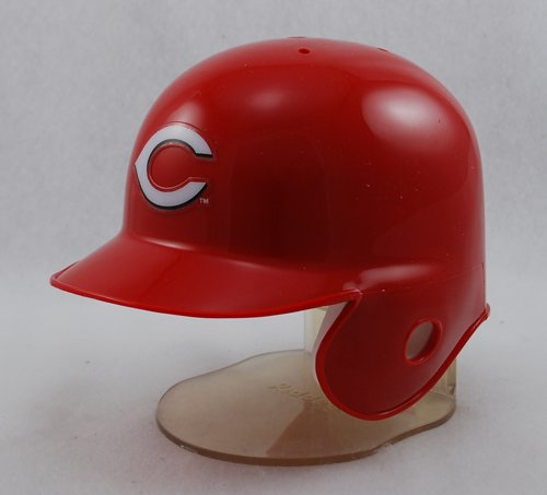 Cincinnati Reds Mini Baseball Batting Helmet - with display stand