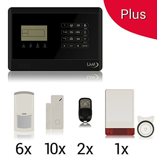 290 opinioni per KIT Plus M2E Antifurto Allarme Casa LKM Security Kit Wireless Senza Fili