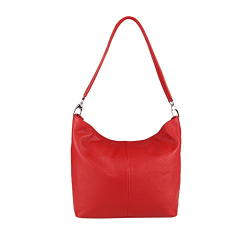 BxHxT cm Blumen Couture al Rojo Hombro Beautiful OBC Bolso Weiß V1 Only Blanco para Mujer 36x24x14 R74OqgBnxw