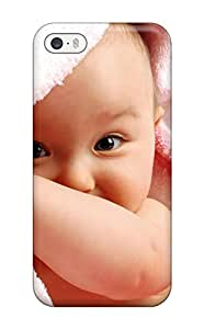 Hot Design Premium Tpu Case Cover Iphone 5/5s Protection Case(cute Baby Boy 2)