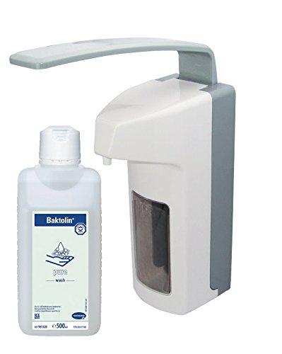 500 ml Euro Dispensador , adecuado para todos Euro envases Top Producto + 500 ml Jabón