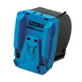 Rapid® Heavy-Duty Staple Cartridge STAPLES,F/RAPID,5080,BK (Pack of2)