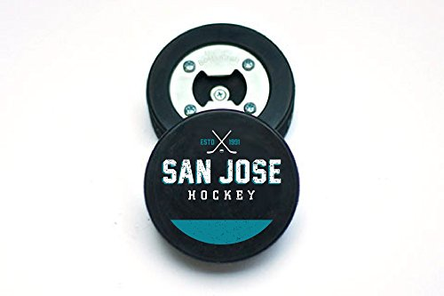 The PuckOpener – Hockey Puck Bottle Opener – San Jose Review