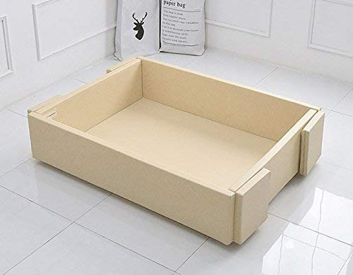 MAMING Speed Bumper Bed Eco friendly oversize Playmat (Beige)
