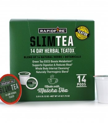 RapidFire Slim Matcha Tea Pods 14 Ct (Pack of 2)