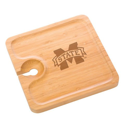 Mississippi State Bamboo Party Plate
