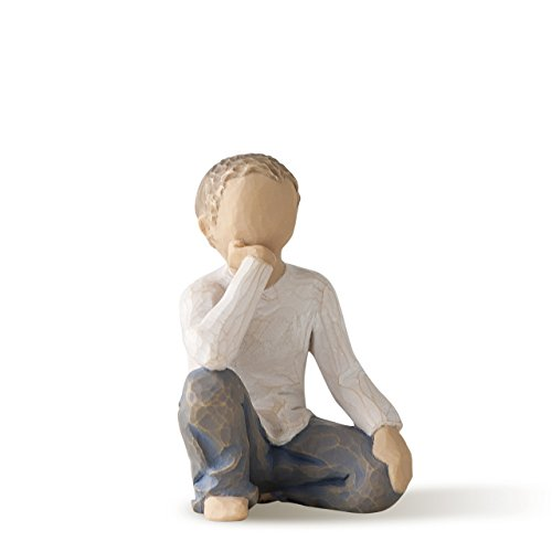 (Willow Tree Inquisitive Child, Sculpted Hand-Painted Figure)