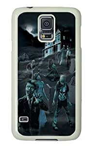 Samsung Galaxy S5 Case and Cover -Zombie Ghosts Glow in Dark PC Hard Plastic Case for Samsung S5/Samsung Galaxy S5 Whtie