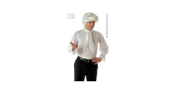 Camisa con chorreras M - L=48 - 50