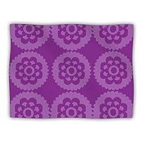 "Kess InHouse Nicole Ketchum ""Moroccan Purple"" Pet Dog Blanket, 60 by 50-Inch"