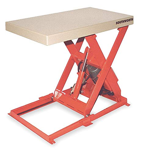 Southworth Scissor Lift Table, 1100 lb., 115V, 1 Phase - LL1.1-26-2036