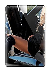 Michael Volpe Case Cover For Ipad Mini/mini 2 - Retailer Packaging Sexy Lady, Hot Car Protective Case